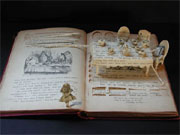 image of an altered 'Alice's Adventures in Wonderland' book