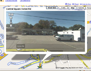 Google Street View of Laundromat