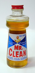 Mr Clean bottle