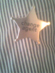 Change Agent badge