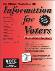 Information for Voters booklet cover