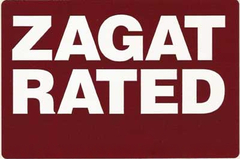 Zagat Rated logo