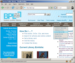 BPL e-Journals link