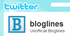 Twitter @bloglines