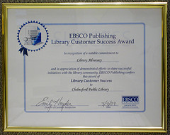 EBSCO Library Advocacy Award