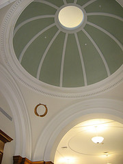 Library dome inside