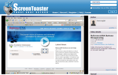 screentoaster.com demo