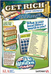 Library Calculator Cereal Box