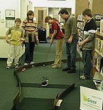 Library minigolf