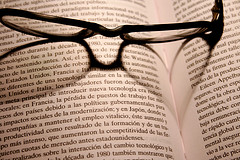 Heart shadow in book