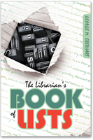 Librarian&#039;s Book of Lists, by George Eberhart