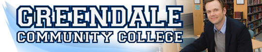 Greendale Community College banner