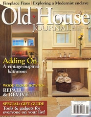 Old House Journal cover 01-2011