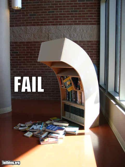 Bookshelf FAIL