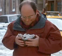 George Costanza and his wallet
