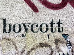 Boycott painting