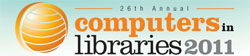 Computers in Libraries 2011 logo