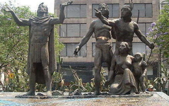 Statue of Foundation of Tenochtitlan, a.k.a., Monumento a la Fundacin de Gran Tenochtitlan