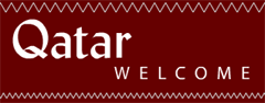 Welcome to Qatar sign