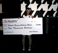 Giant check