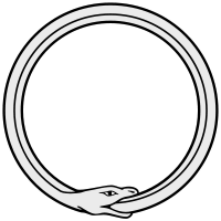 Ouroboros - snake eating its tail