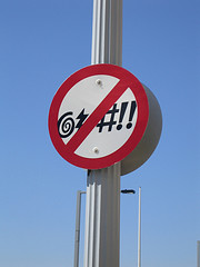 No Swearing sign