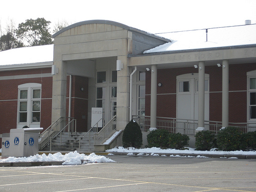 Chelmsford Public Library Closed
