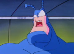 The Tick animated TV character
