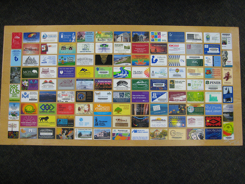 Library Card Table top