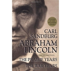 Ambraham Lincon book, by Carl Sandburg