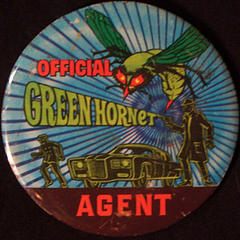 Official Green Hornet Agent badge