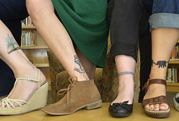 Tattooed Youth Librarians of Massachusetts