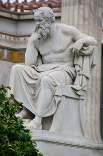 Plato Statue, Athens Academy, Athens, Greece