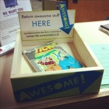 Awesome Box: Return Awesome Stuff Here