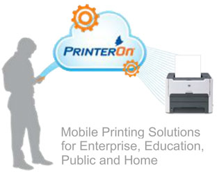 PrinterOn: mobile printing solution
